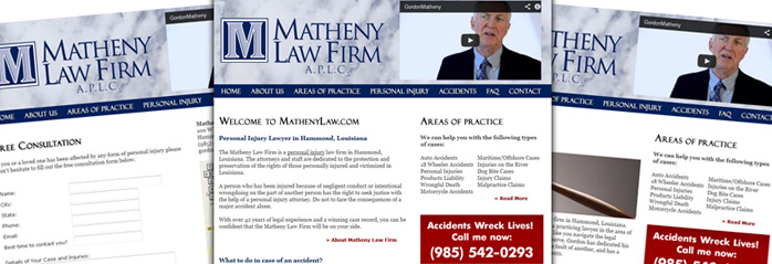 Law Firm Website New Orleans